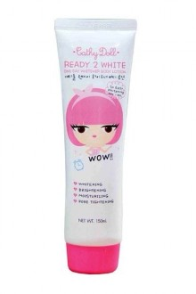 cathydoll ready 2 white body lotion new