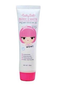 cathydoll ready 2 white body lotion new
